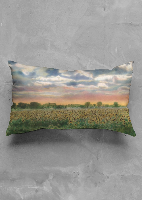Sunflowers pillow