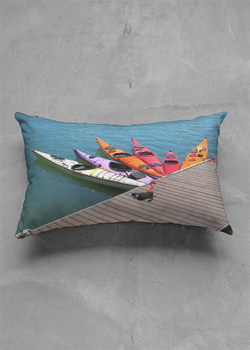 Product View - Accent Pillow - Matte Oblong titled Bring Your Paddle