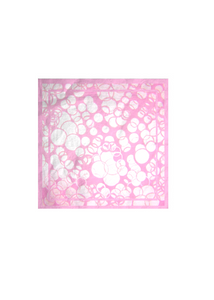 Mens Cotton Pocket Square - pink mauve by VIDA VIDA