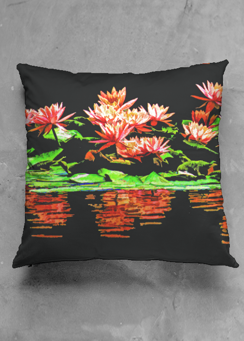 West Lake Lotus (Pillow)