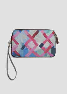 VIDA Leather Statement Clutch - Watercolor by VIDA etrj6x