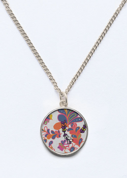 Product View - Long Pendant titled SPRING IN MEXICO