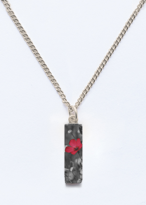 Short Pendant - Scarlet Flax by VIDA VIDA For Nice Sale Online Latest Collections For Sale 2ATn9feh