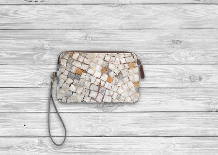 Leather Statement Clutch - Leather Clutch 1 by VIDA VIDA gBEhJdzF
