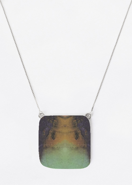 Oversized Square Pendant