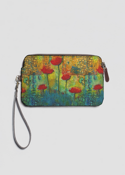 VIDA Statement Bag - Summer Poppies by VIDA