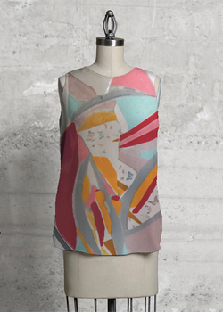 Product View - Sleeveless Top titled Metamorphosis top