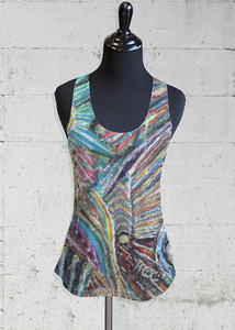 Buy Cheap Reliable Printed Racerback Top - Orbs by VIDA VIDA Pre Order Cheap Price Clearance Store Cheap Online Buy Cheap 100% Authentic Ph4Oc0hFap