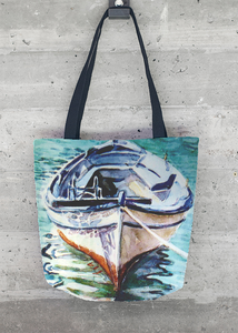 VIDA Foldaway Tote - Abstract in Gray by VIDA iR3fRo9