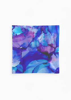 Product View - Square Glass Tray titled Dancing at Midnight