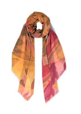 Product View - Modal Scarf titled Memory of Autumn