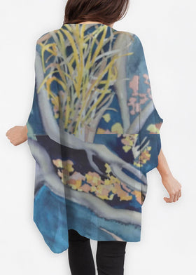 Product View - Cocoon Wrap titled Tangled Roots