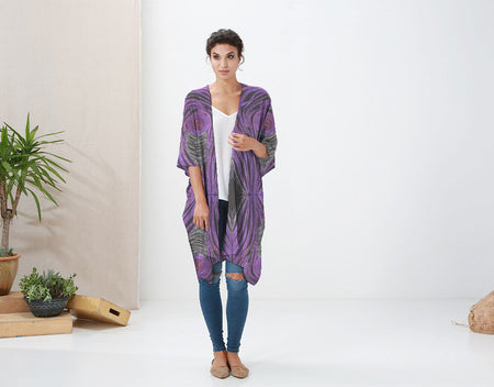 Multi-Wear Wrap - Abstrat in Grays by VIDA VIDA rhK9qXPQS