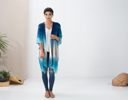 Product View - Sheer Wrap titled SUBMERGED - SHEER WRAP