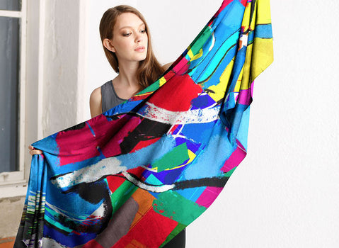 Product View - Modal Scarf titled matis