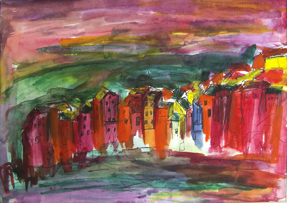 Tuscany Water colour