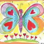 Love Colors Butterfly