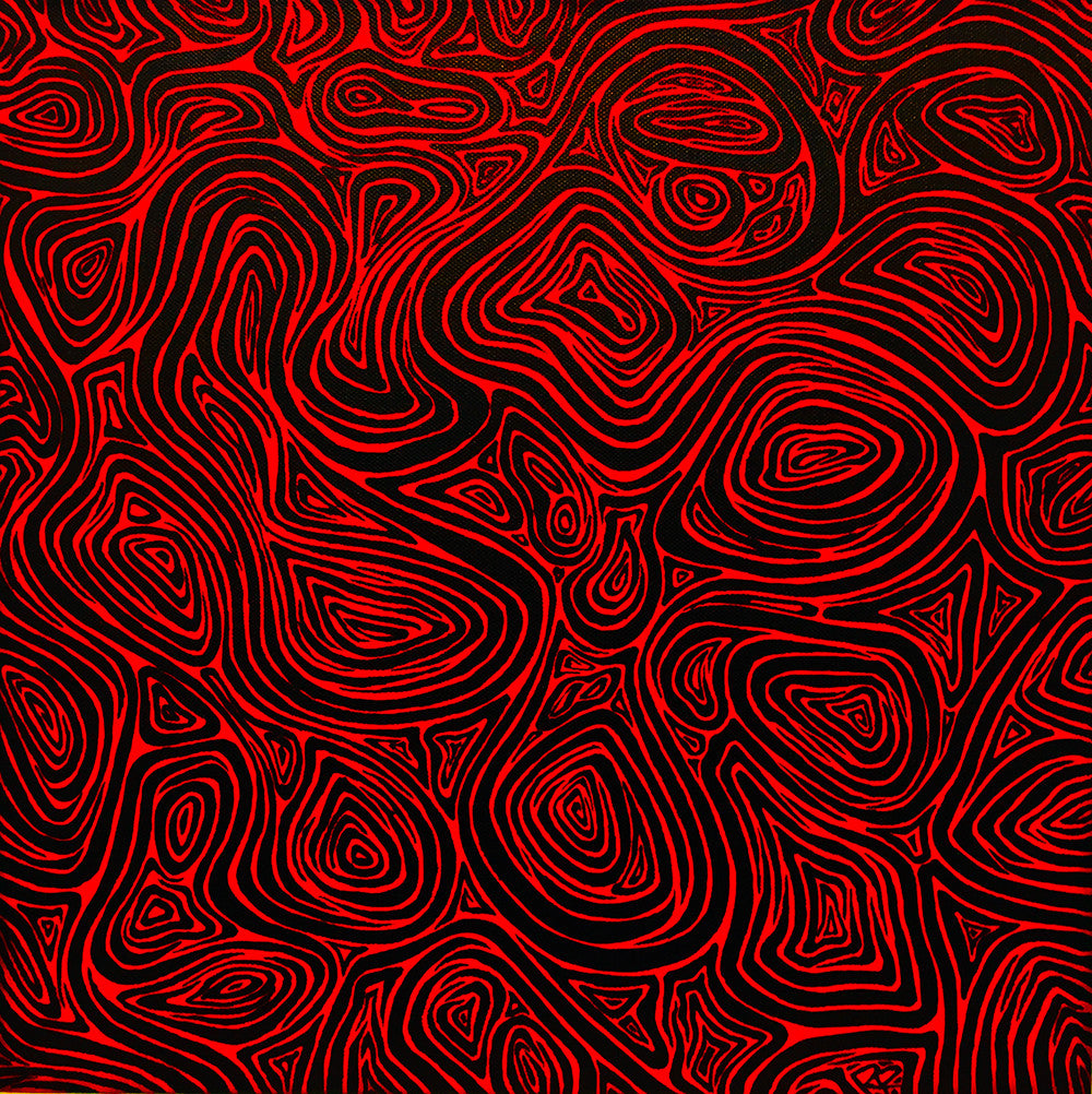 Red Swirls