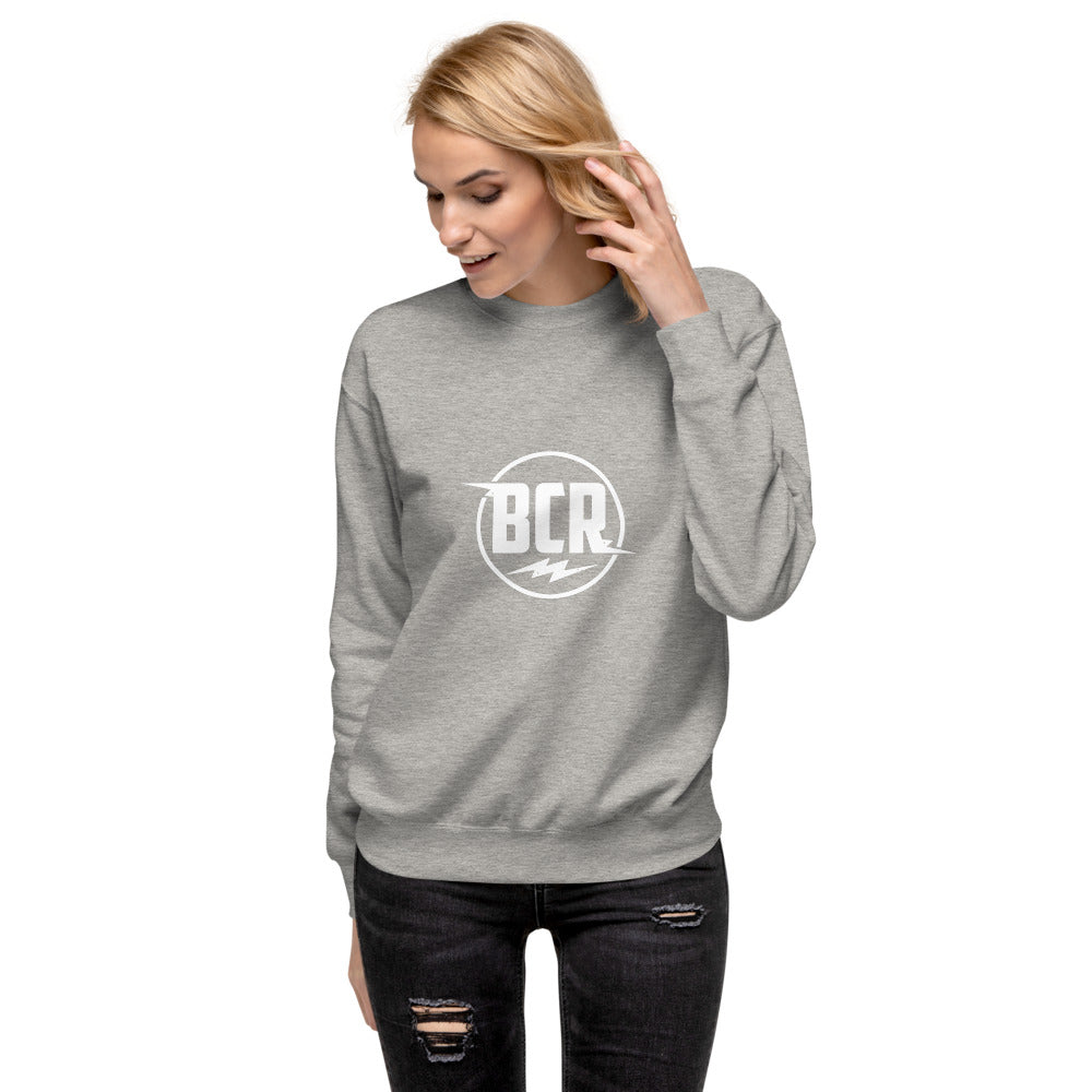 NEW! Women's Oversized BCR (Big City Records) Fleece Pullover