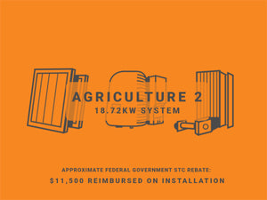 Agriculture Package 2 - 18.72KW System