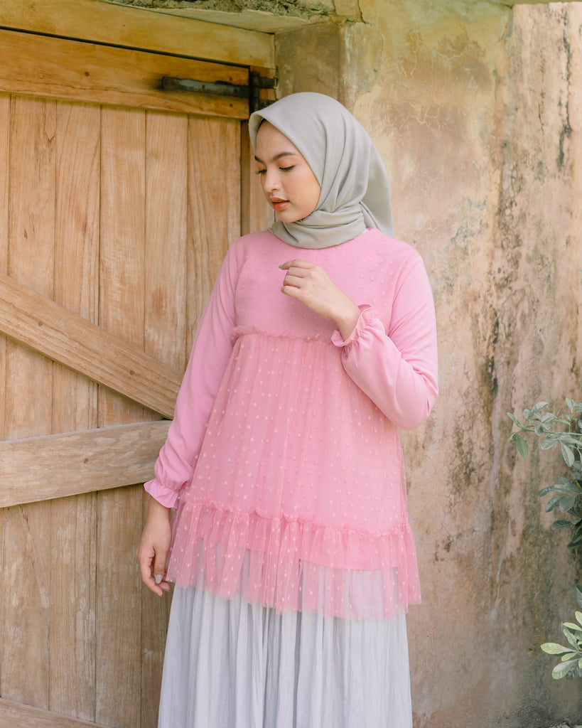 Tammy Blouse Salmon Rose