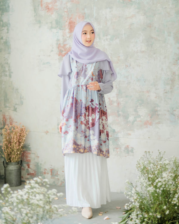 Hanbok Tunic Lucy Lavender
