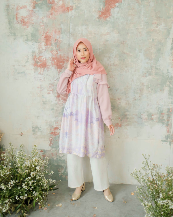 Hanbok Tunic Lucy Lilac