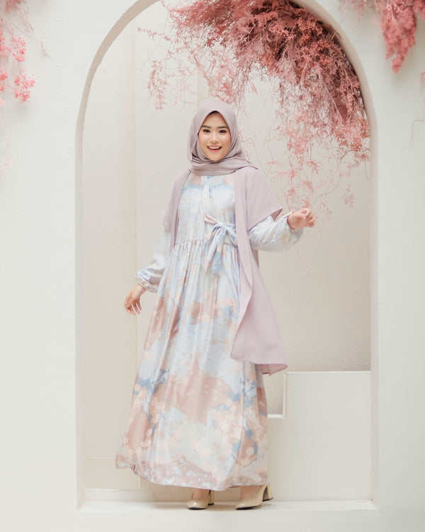 Hanbok Cornelia Maxidress Rose