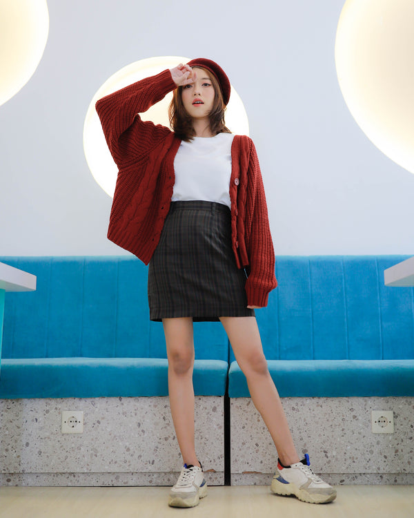 Yoo In Na Cardigan Red Velvet