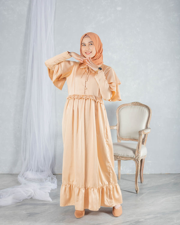 Vagabond Maxidress Gold