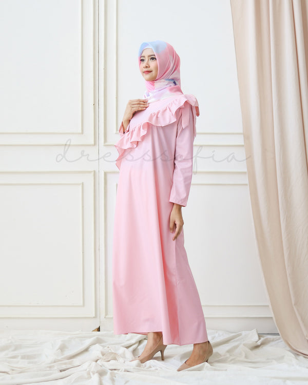 Moon Royal Raya Maxidress Baby Pink