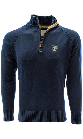 Men's Salute Excalibur Sweater - Navy