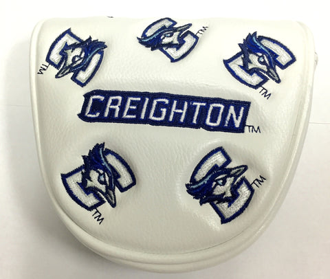 Creighton Mallet Putter Cover - White