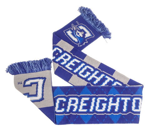 Creighton Bar and Argyle Scarf