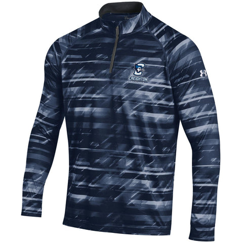Under Armour Men's Tech Zip Pullover-Midnight Navy