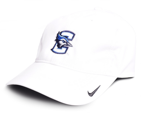 Creighton Nike Golf Tech Hat - White