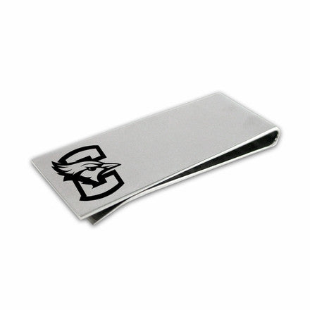 Creighton Laser Etched Money Clip