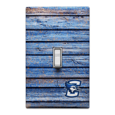 CREIGHTON UNIVERSITY BLUEJAYS LIGHT SWITCH PLATE COVER
