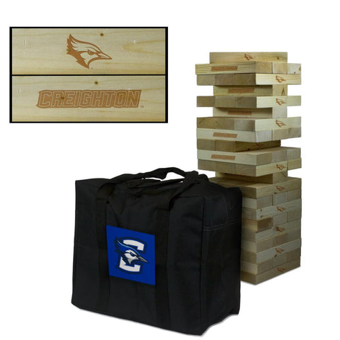 Creighton Bluejays 5ft. Tumble Tower Game