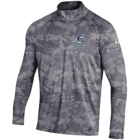 Under Armour Men's Tech Zip Pullover-Steel Grey