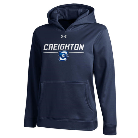 Kids Under Armour Jays Hoodie- Navy