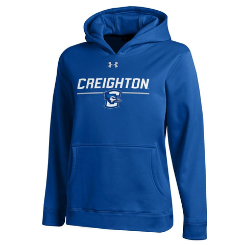 Kids Under Armour Jays Hoodie- Royal