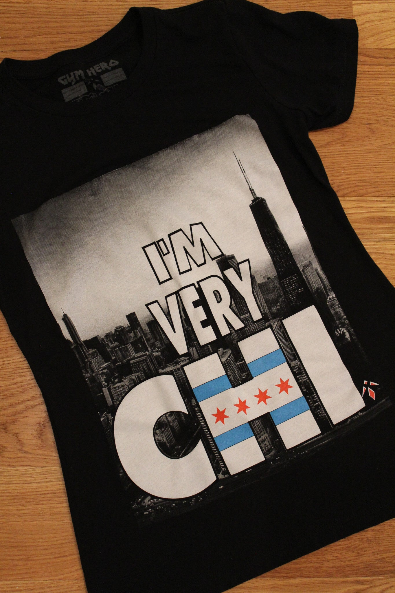 I'm Very Chi (Women's T-Shirt/2 Colors) - Gym Hero