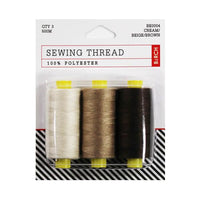 brown polyester thread