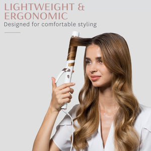 "SinglePass Curl 1.25"" Professional Ceramic Curling Iron"