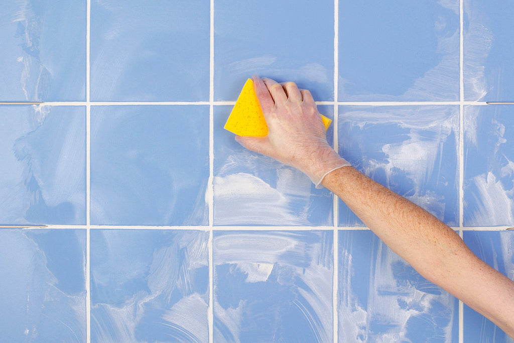 Hack#6: Use This To Treat The Grout Between Tiles!