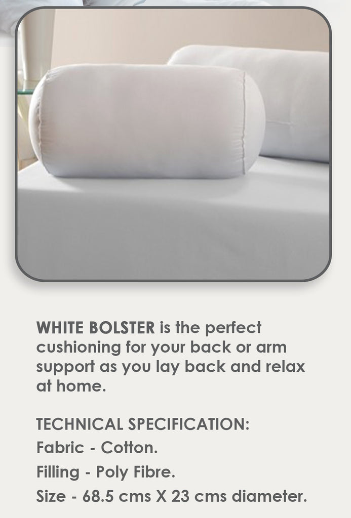 Cosee White Bolster