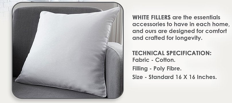 White Cushion Fillers