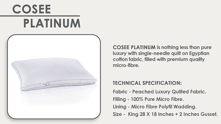 Cosee Platinum Pillow