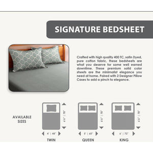 Signature Bed Sheet - SleepCosee